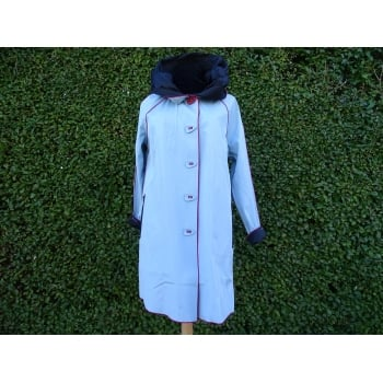 UBU Reversible Coat  Sky blue/black