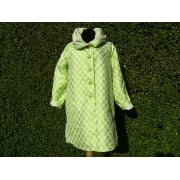Reversible Coat Kiwi dot white/white dot kiwi