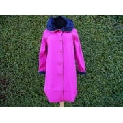 Reversible Coat  Pink/navy
