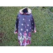 Reversible Coat Spring flowers