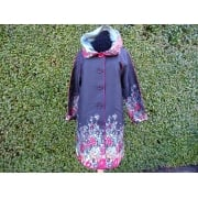 Reversible Coat Red floral
